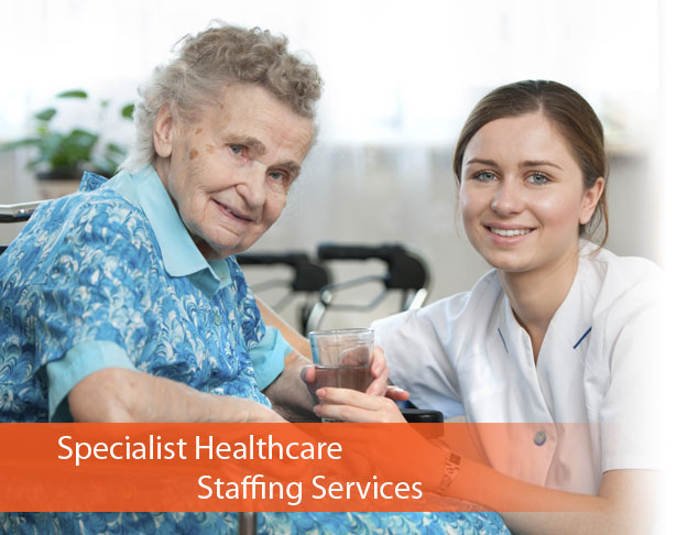 Specialist healthcare staffing services