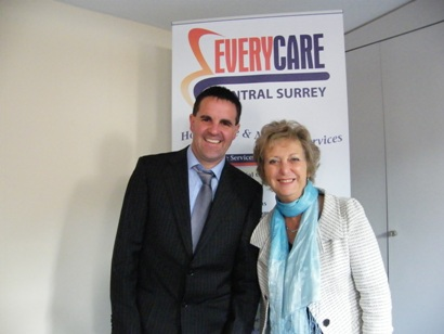 Nigel and Pauline Herring Everycare Central Surrey