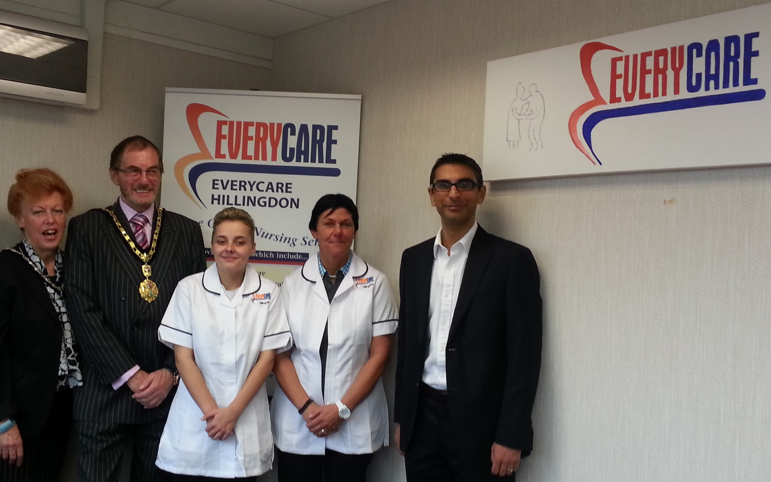 Opening of Hillingdon Everycare office