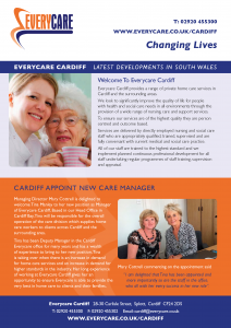 Everycare Cardiff all the latest care news from Cardiff