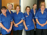 Isle of Wight Nurse and health care assistant team