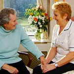 Personal home care services - nurse attending client