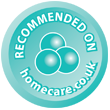 rECOMMENDED BY HOME CARE IN EASTBOURNE