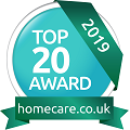 Home care top 20 award